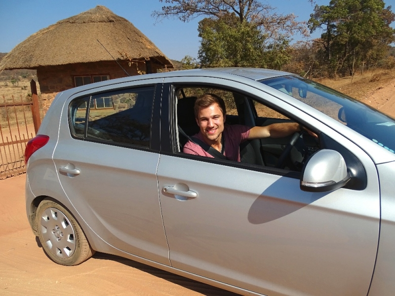 Links rijden Zuid-Afrika