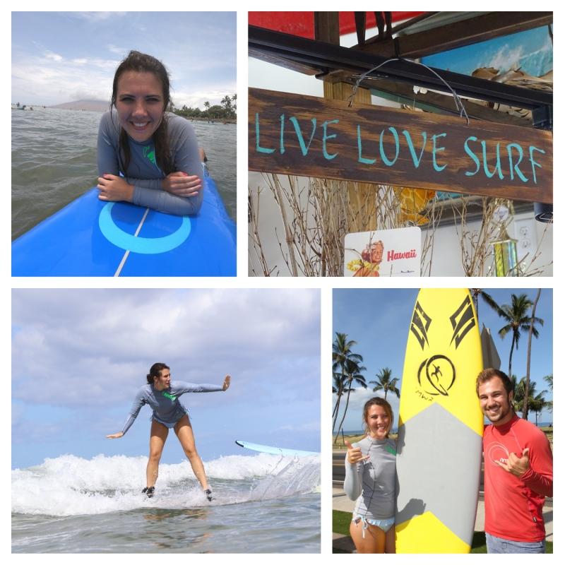 Surfen op Maui