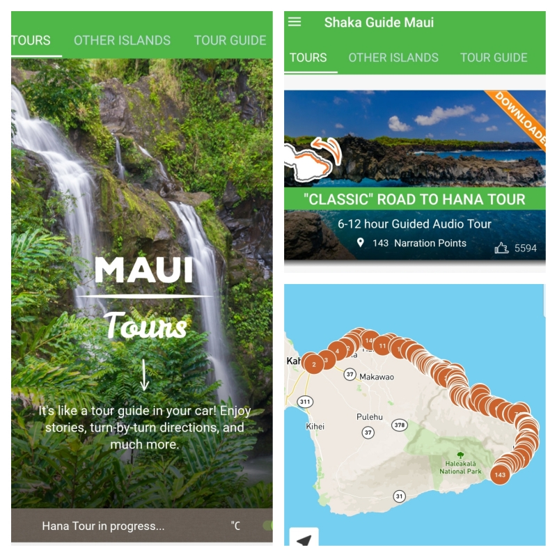 Tips Road to Hana: Shaka Guide App