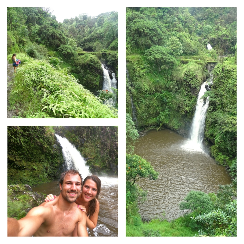 Wailuaiki Falls tijdens Road to Hana