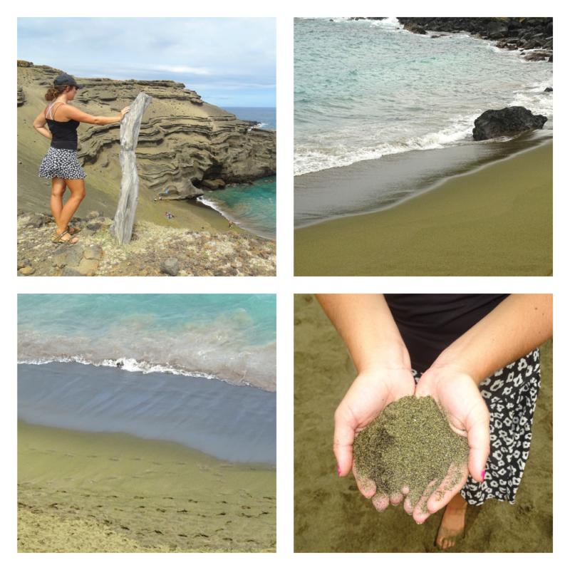 Groen strand