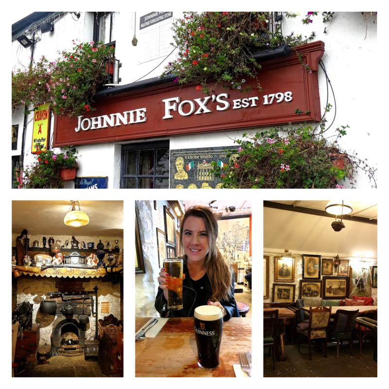 Johnnie Fox pub in Ierland