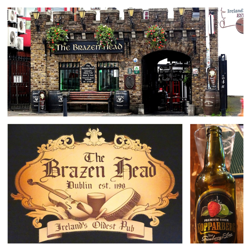 The Brazen Head pub in Ierland