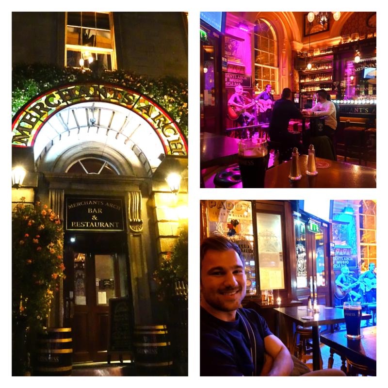 The Merchant's Arch pub in Ierland