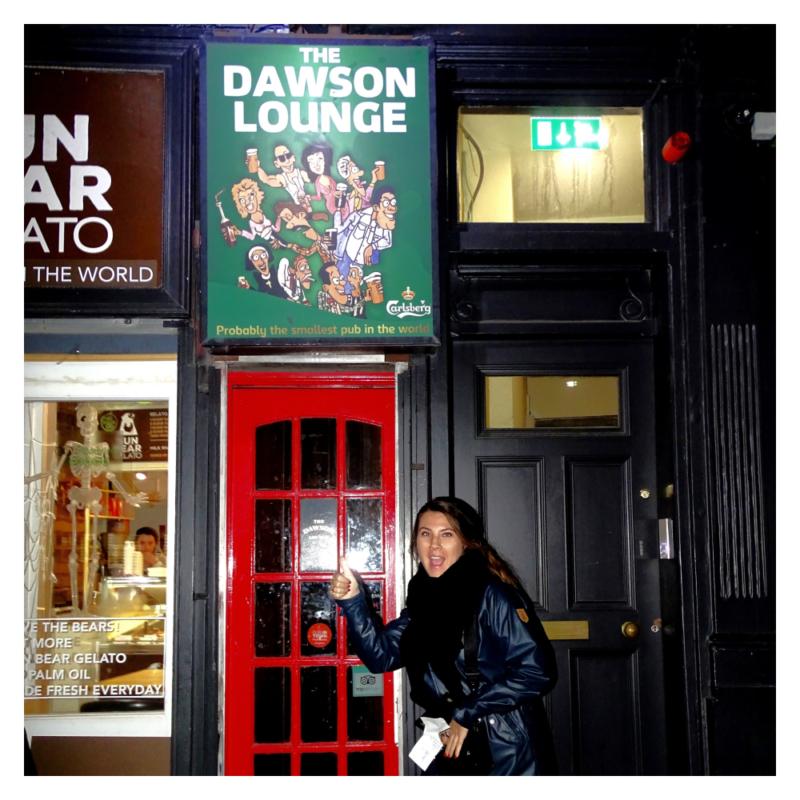 The Dawson Lounge pub in Ierland