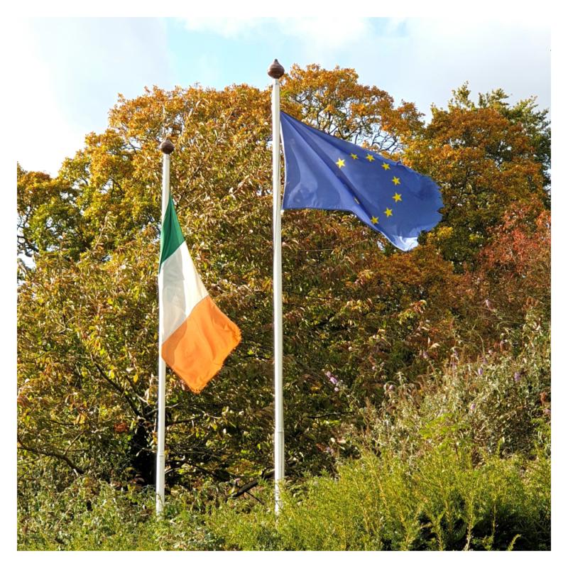 Ierland hoort bij EU