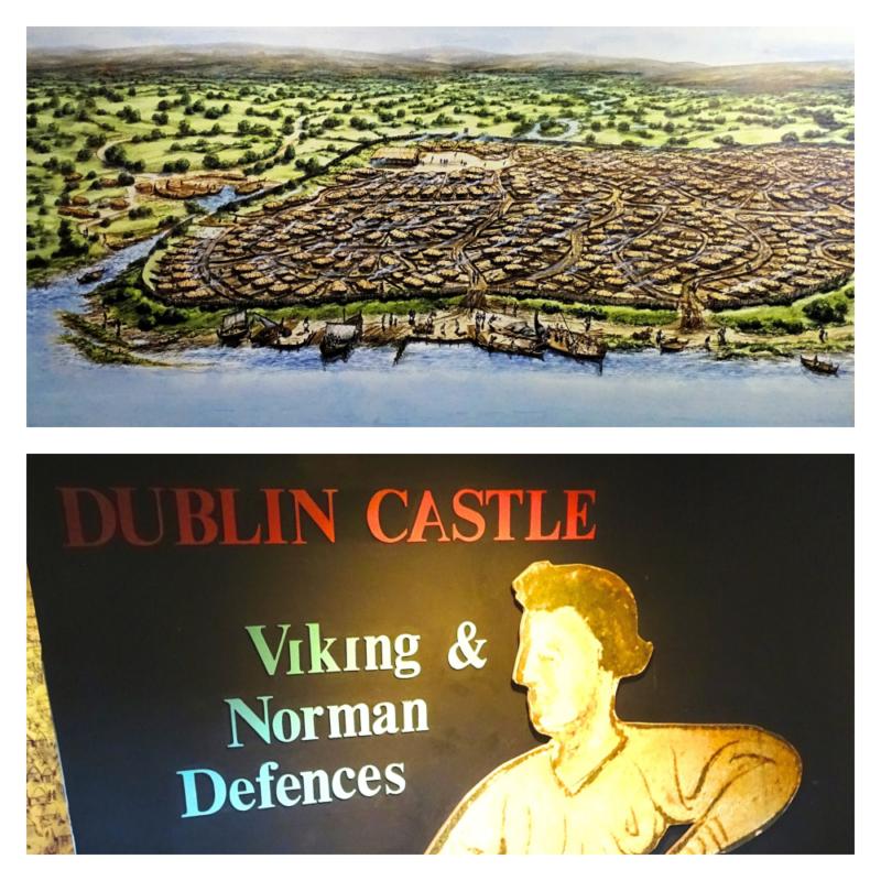 Vikingen Dublin gesticht